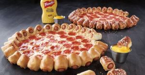 x pizza hut hot dog